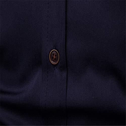 Coton Mode shirt Longue Homme Garçon Tee Vest Bande La Marine5 Blanche Ado Gilet À Plaid A Cher Pas Top T Chemise Sweat Manche Vetement P0wEFqx8