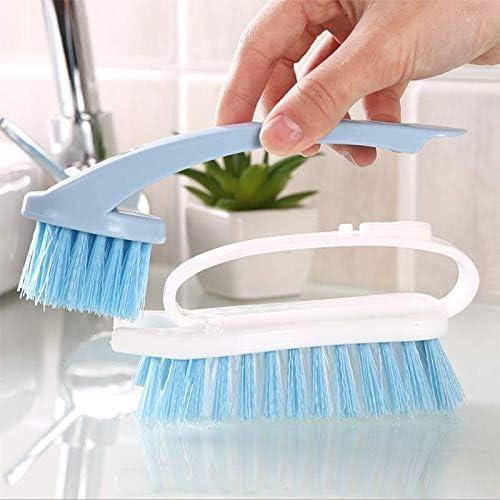 HDLWIS Cepillo de Limpieza de plástico, Cepillo de Limpieza Multiusos, Cepillo Suave para Limpieza de cocinas y baños: Amazon.es: Hogar