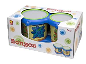 Edushape Bongos Musical Toy (Discontinued by Manufacturer)