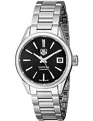 TAG Heuer Womens WAR2410.BA0770 Carrera Swiss Automatic Stainless Steel Watch