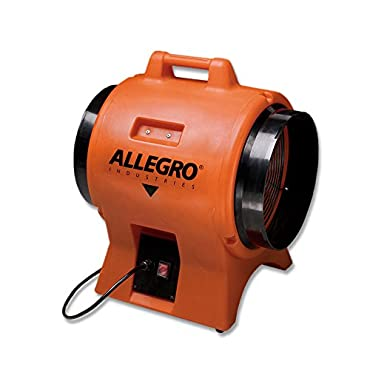 Allegro Industries 9539-12DC 12 DC Industrial Plastic Blower