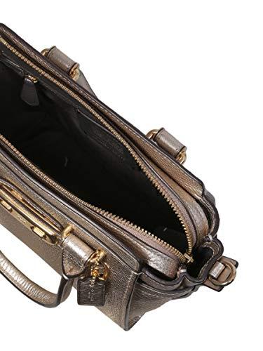 A Pelle Oro Borsa 22718lilh4 Mano Donna Coach p85wXqx