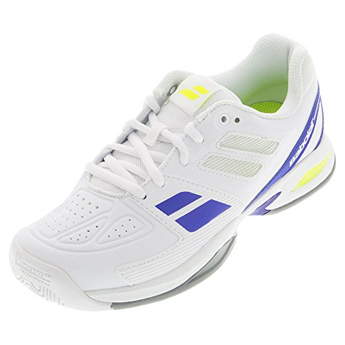 BABOLAT Propulse Team All Court Schuhe Kinder, Weiß, 35.5