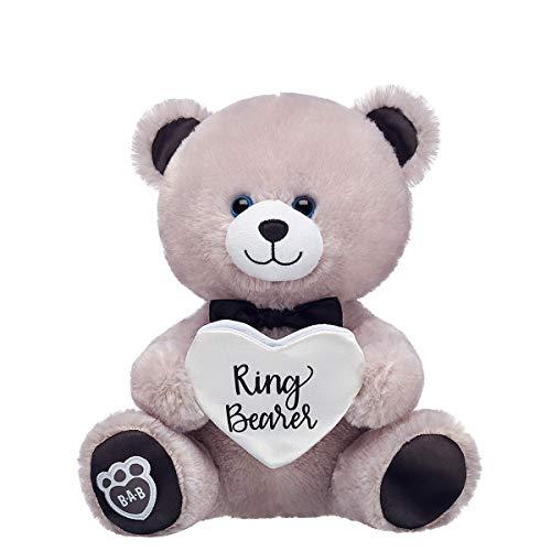 (Build A Bear Workshop Online Exclusive 10in Pre-Stuffed Ringer Bearer Bear)