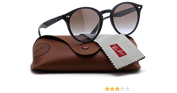 31a2b1d7ca Amazon.com  Ray-Ban RB2180 623094 Round Sunglasses Violet Gradient Mirror  Lens 51mm  Clothing