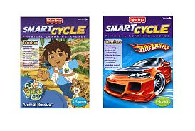 (2 Smart Cycle BOY Games: Hot Wheels Pedal to the Metal & Go Diego Go Animal Rescue)