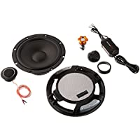 RENEGADE by ROCKFORD FOSGATE 6.5 400W 2-Way Car Audio Stereo Components Speakers System with Tweeters and Crossovers - Pair With FREE Car Cigarette Lighter