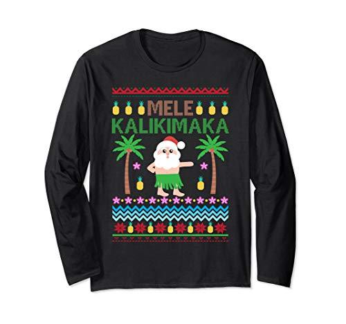 Mele Kalikimaka Shirt Hawaiian Merry Christmas Ugly for sale  Delivered anywhere in USA