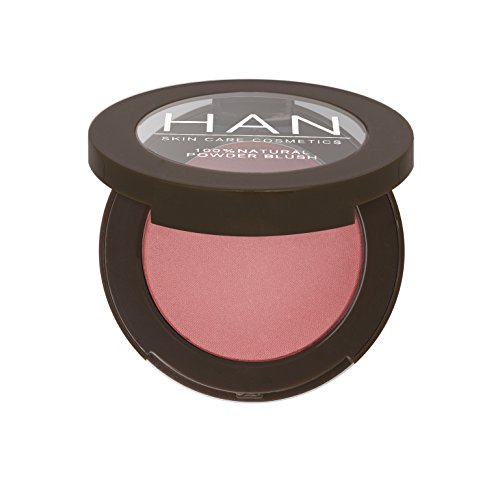 HAN Skin Care Cosmetics All Natural Blush, Strawberry Pink