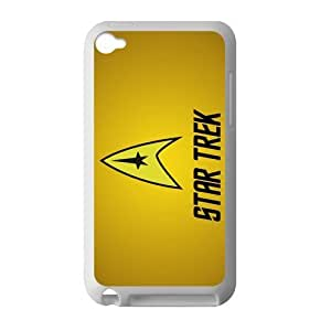 Star Treck Comic Apple iPod Touch 4th Case Cover Protecter - Retail Packaging - Laser Rubber