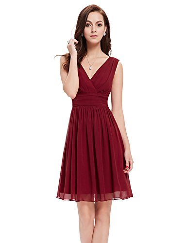 dress with ruched waist - 1
