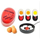 Egg Timer Kitchen Supplies Egg Perfect Color Changing Perfect Boiled Eggs Cooking Helper - 2 Pack