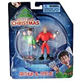 Arthur Christmas Mini Figure 2Pack Arthur Steve