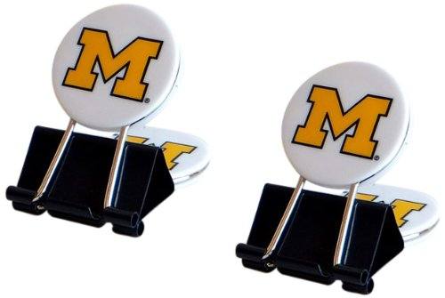 NCAA Michigan Wolverines MyFanClip Multipurpose Clips (Pack of 2)