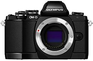 "Olympus OM-D E-M10 - Cámara EVIL de 16.1 Mp (pantalla táctil abatible 3"", estabilizador óptico, vídeo Full HD, WiFi), color negro - Solo cuerpo"