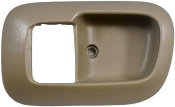 Beige - Regular//Access Cab Inside Interior Inner Door Handle Trim//Bezel PT Auto Warehouse TO-2950E-2FL Fawn Driver Side Front