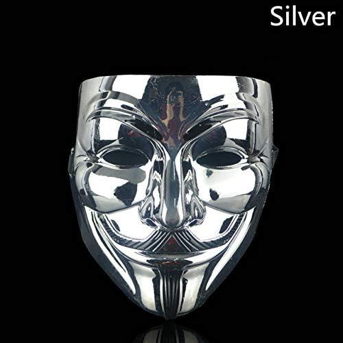 WSJDE Máscara de Fiesta de Halloween 1Pcs / Set V para Vendetta ...