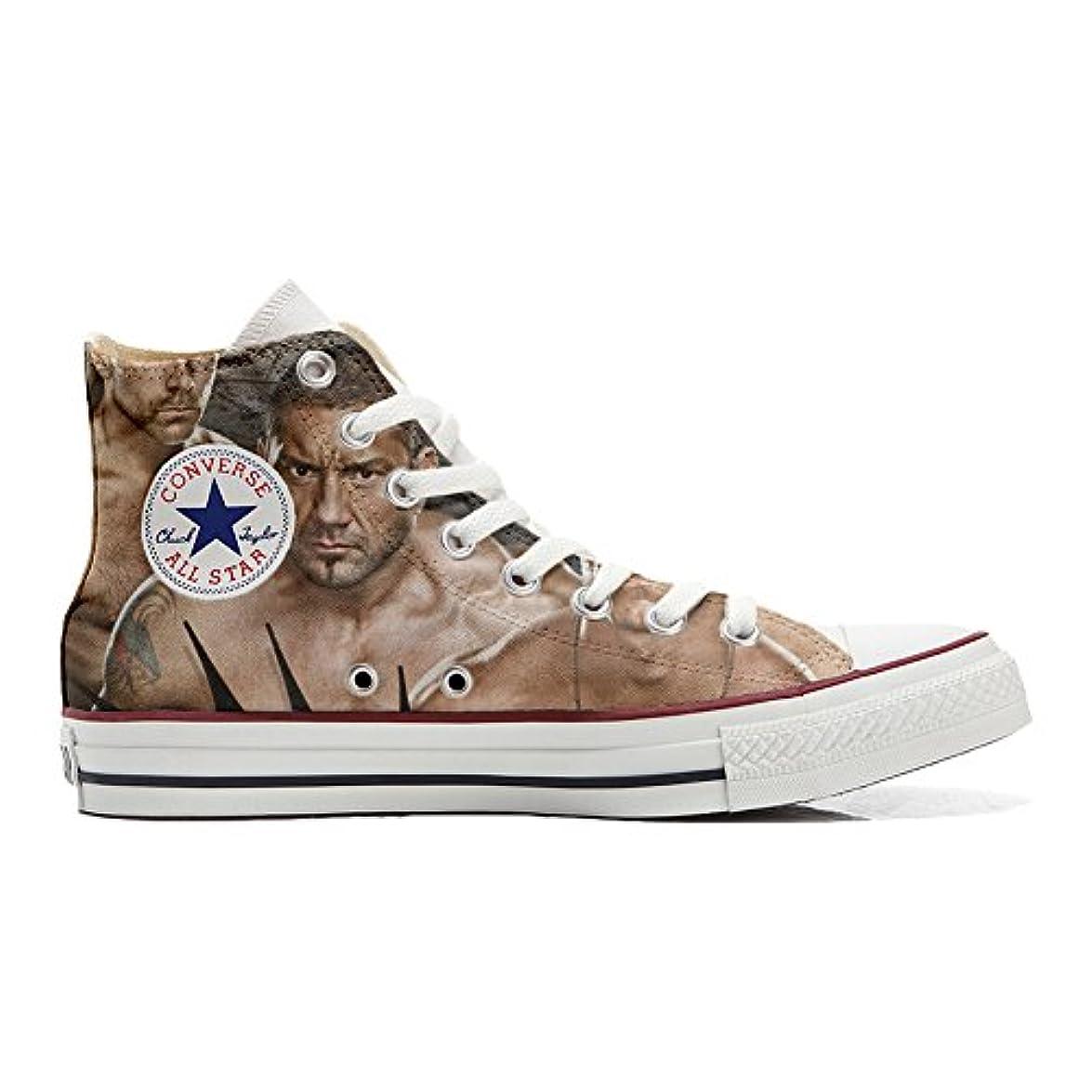 Personalizzate Converse Wrestling Star Scarpe Artigianali Wwe scarpe All Alte