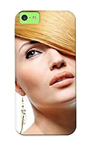 Durable Case For The Iphone 5c- Eco-friendly Retail Packaging(sexy Blonde Girl Nice Hair )