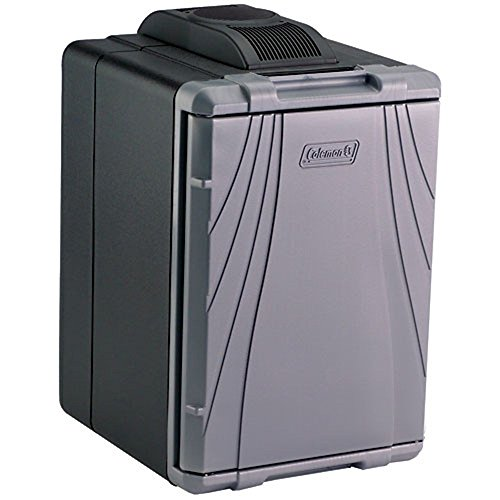 Coleman PowerChill 3000001497 Thermoelectric Cooler with Power Supply (40-Quart), Silver (Thermoelectric Cooler Coleman)
