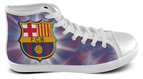 Man High Top Sneakers Voor Football Club Barcelona Fans Shoes01