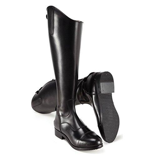 Salão Harry Edlington Botas De Montaria Mulheres Sapatos Equestres Preto