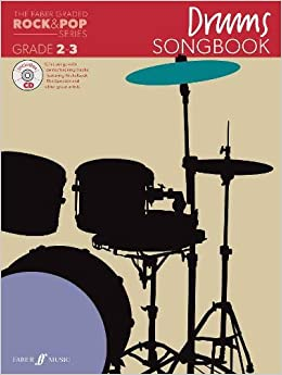 The Faber Graded Rock /& Pop Drums Songbook Grade 2-3 Music Book//CD