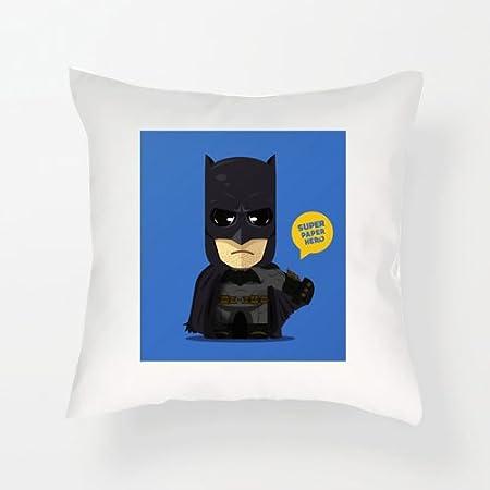Charo Gifts Cojín de Batman con diseño de superhéroe del Día ...