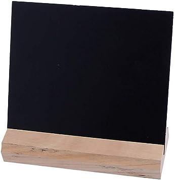 Kreidetafel mit Holzständer