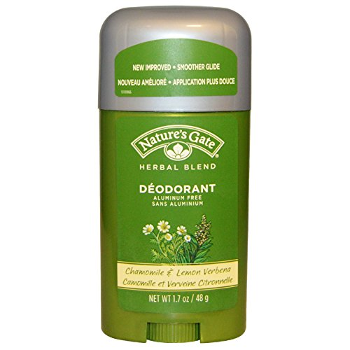 Nature's Gate Herbal Blend Deodorant Stick Chamomile and Lemon Verbena -- 1.7 oz - 3PC - Lemon Verbena Natures Gate