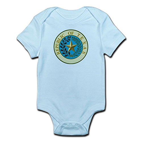 CafePress Republic of Texas Infant Creeper - Cute Infant Bodysuit Baby Romper -