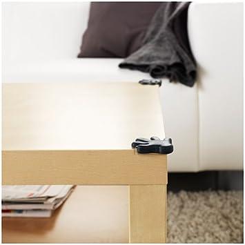 Pack of 8 Ikea IKE-901.304.17 Eckschutz in Schwarz 8 St/ück Patrull Corner Protectors in Black
