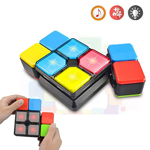 (Toys for 6-12 Year Old Boys Girls JoyJam Rubiks Music Cube Puzzle Toy Electronic Magic Cube Speed Cube Novelty Game for Teens Decompression Toys for Adults Christmas Birthday Gifts JJ-MF)