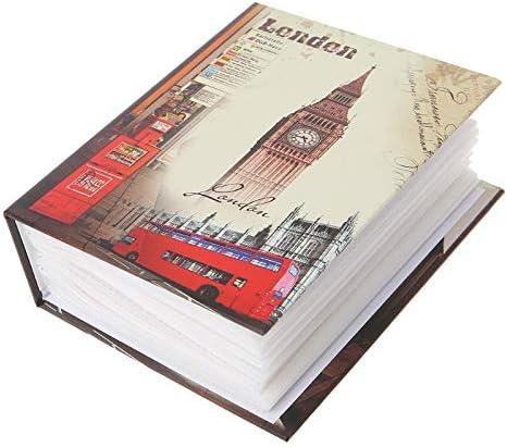 YAOHM 100 Bolsillos para Fotos Álbum de Fotos Fotos intersticiales Estuche para Libros Almacenamiento para álbumes para niños Regalo de Recuerdos de Bodas Familiares,4: Amazon.es: Hogar