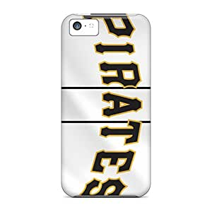 Scratch Protection Cell-phone Hard Cover For Iphone 5c (noC9744XjKV) Allow Personal Design Beautiful Pittsburgh Pirates Series
