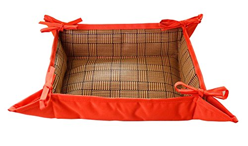 LPET Multifunctional Comfortable Dog Bed Cooling Crates Mat Both sides Pet Pad Kennels Nest Usable All Seasons for Puppy Cats(Blue) (Dog Boutique Online)
