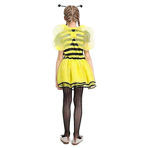 Bee Fancy Dress - Bee Costume Kids Girls Fairy Fancy
