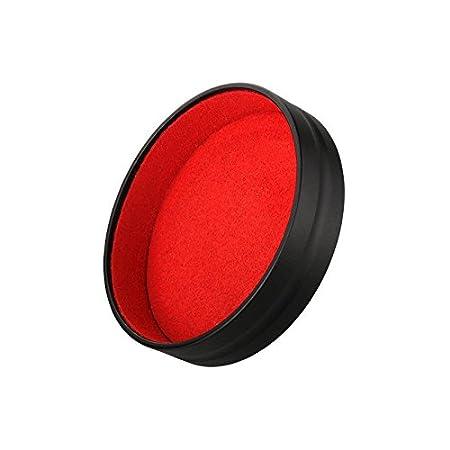 Jfoto Lq C Objektivdeckel Design Für Leica Q Typ 116 Objektiv Quadratische Haube Kamera Schwarz Metall Frontlinsenabdeckung Beauty