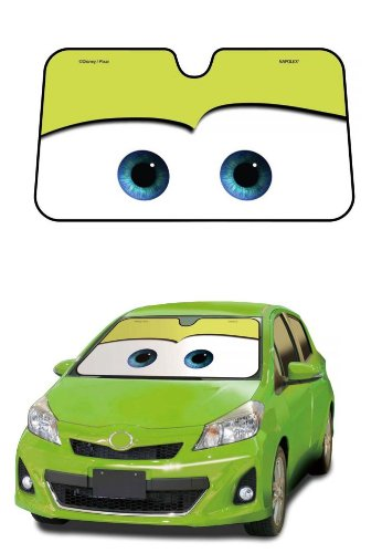 Cars Green Disney Pixar Movie Car Truck SUV Front Windshield Sunshade - Accordion ()