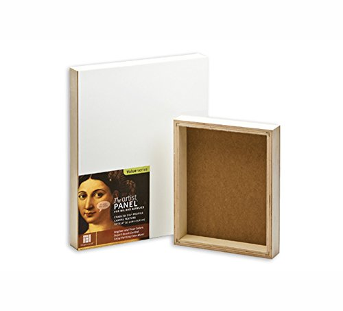 Ampersand Value Series Artist Panel Canvas Finish - 1-1/2