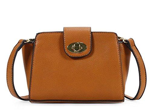 Scarleton Modern H1870 Brown Bag Mini Crossbody Stylish Aqzx84RAU