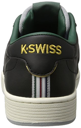 K-Swiss Herren Hoke P Sneakers Schwarz(BLACK/FOREST/HIGHRISE)