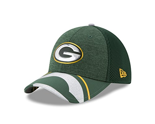 NFL Green Bay Packers 2017 Draft On Stage 39Thirty Stretch Fit Cap, Medium/Large, Green