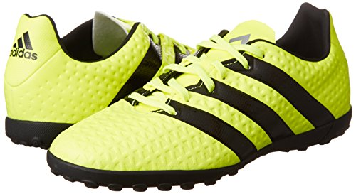 Adidas Ace 16.4 Jr Turf Football Boots - Youth - Solar Yellow/Black/Silver Met - Amarillo (Amasol / Negbas / Plamet) nPra6nHGY