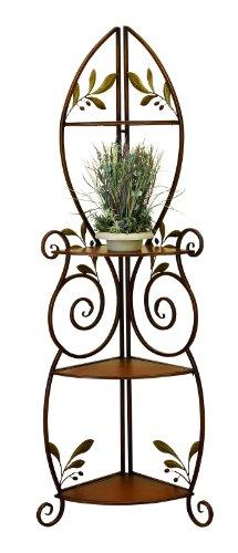Cheap Deco 79 41909 Metal Wood Corner Rack, 23 by 66-Inch