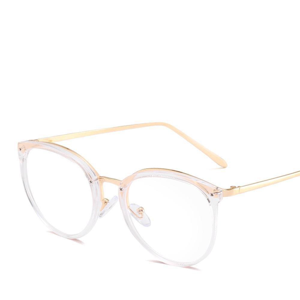BiuTeFang Gafas de Sol Mujer Hombre Polarizadas Ronda Marco ...