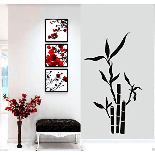 hwhz 52 X 90 cm Tree Bamboo Wall Art Sticker Bathroom Bedroom Decal Dining Room Decor Art Painting Wall Stickers Vinyl Decor -