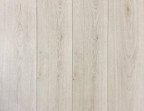 Swiss Krono Trend White Laminate Flooring 8mm (22.93 sq. ft./case) Made in Germany European (Wilsonart Laminate Cleaner)
