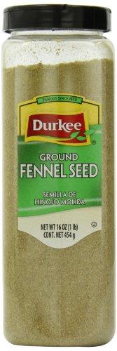 Durkee Fennel Ground Seed, ()