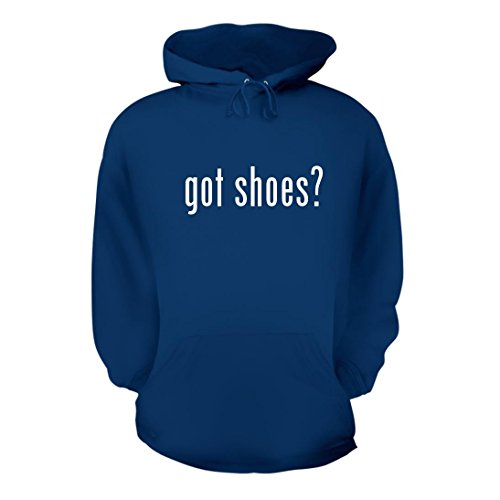 got shoes? - A Nice Men's Hoodie Hooded Sweatshirt, Blue, Large from Shirt Me Up
